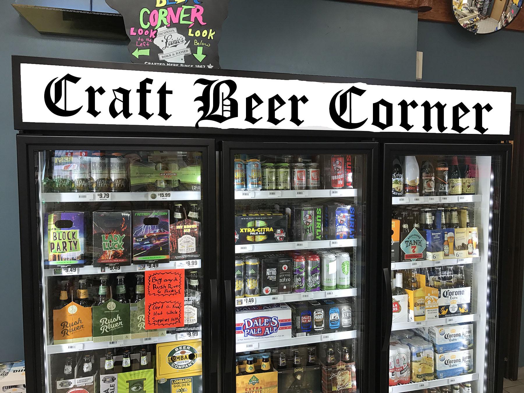 Craft Beer Corner